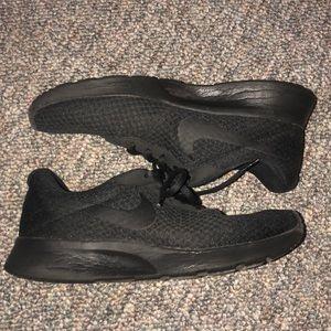 Nike Shoes - Nike Tanjun all black sneaker